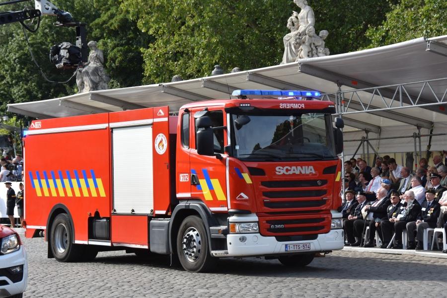 Défilé Pompiers