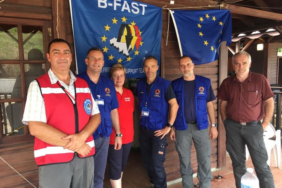Mission de B-FAST en Dominique