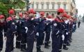 Les coulisses: préparation au défilé
